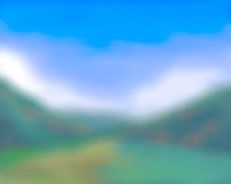 Krita bokeh brush setup background.