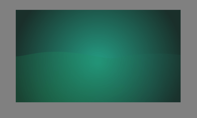 Background gradient for creating caustic effects