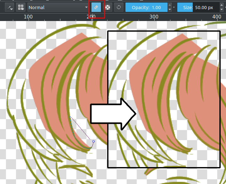 Flat Coloring — Krita Manual version 4 2 0
