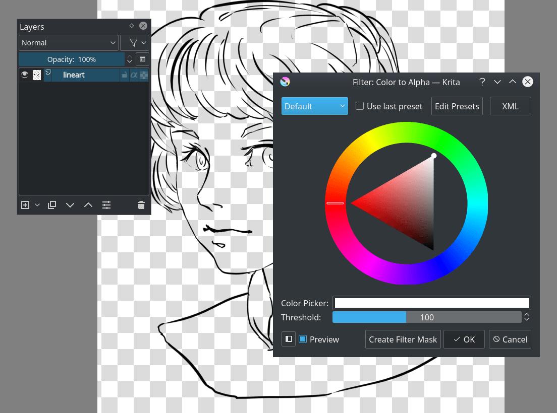 Flat coloring krita manual version 4 2 0